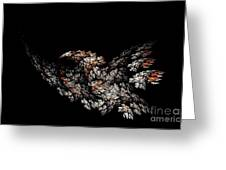 Eagle. Greeting Card