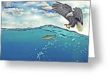 Eaglenfish Greeting Card