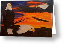 Eagles Are Back                 76 Greeting Card