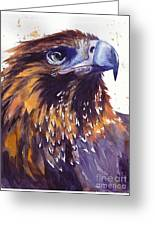 Eagle's Head Greeting Card