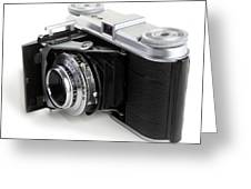 Early 35mm Film Camera Greeting Card