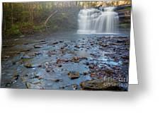 Early Autumn At Pixley Falls Greeting Card