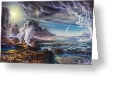 Early Earth Greeting Card