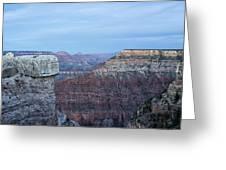 Early Evening At Grand Canyon No. 2 Greeting Card