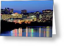 Early Evening In Hartford Greeting Card