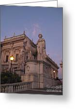 Early Evening Rome Number Two Greeting Card
