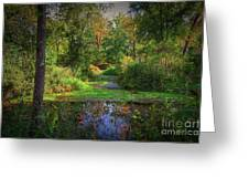 Early Fall At Montauk State Park  Greeting Card