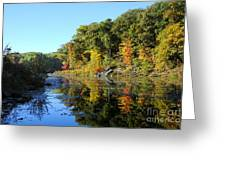 Early Fall Colors Greeting Card
