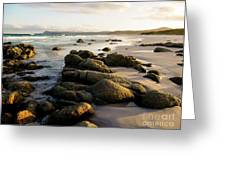 Early Morning At Friendly Beaches Greeting Card