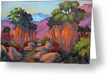 Early Morning At Indian Canyon Greeting Card