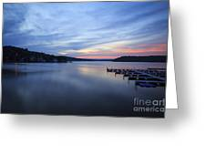 Early Morning At Lake Of The Ozarks Greeting Card