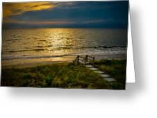 Early Morning Beach Greeting Card