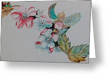 Early Morning Bloom Greeting Card
