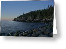 Early Morning In Acadia Greeting Card