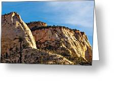 Early Morning In Zion Canyon Greeting Card