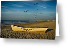 Early Morning Ocean City Nj Greeting Card