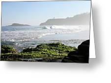 Early Morning On Secret Beach Greeting Card