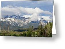 Early Morning Sawtooths Greeting Card