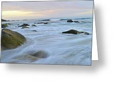 Early Morning Seas Greeting Card