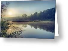 Early Morning Sunrise Greeting Card