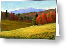Early October Greeting Card