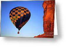 Early Riser Monument Valley Greeting Card