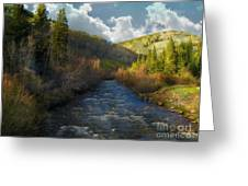 Early Spring Delores River Greeting Card
