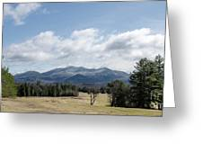 Early Spring In Lake Placid Greeting Card