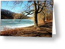 Early Spring In The Park Greeting Card