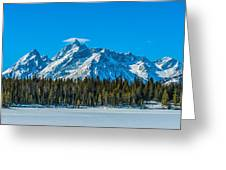 Early Spring In The Tetons Greeting Card