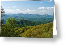 Early Spring On The Blue Ridge Parkway Greeting Card