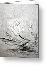 Early Spring Tulips Greeting Card