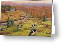 Early Spring Vermont Greeting Card