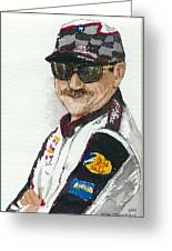 Earnhardt Attitude Greeting Card