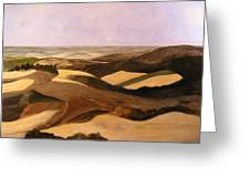 Earth And Dunes Greeting Card