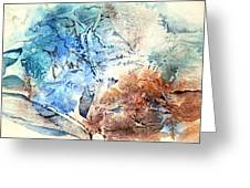 Earth And Ice Greeting Card