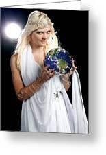 Earth Angel Greeting Card
