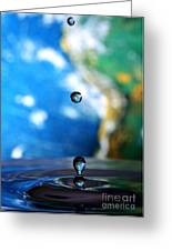 Earth Day Drips Greeting Card