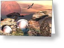Earth Pearls Greeting Card