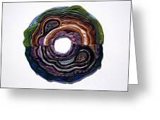 Earth Slice Greeting Card