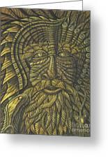 Earth Warrior Greeting Card