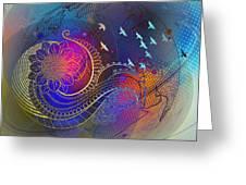 Earth, Zen, Peace 2 Greeting Card