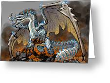 Earthquake Dragon Greeting Card