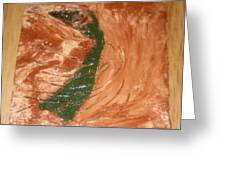 Earths Wind - Tile Greeting Card