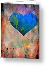 Earthy Heart Greeting Card