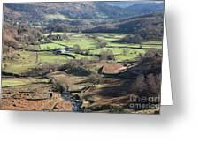 Easedale Beck, Landscape Greeting Card