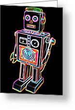 Easel Back Robot Greeting Card