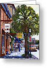 East Bay St. Charleston Sc Greeting Card