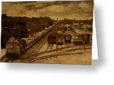 East Bound Greeting Card