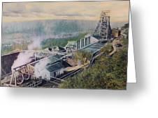 East Brookside Mine Shaft Greeting Card